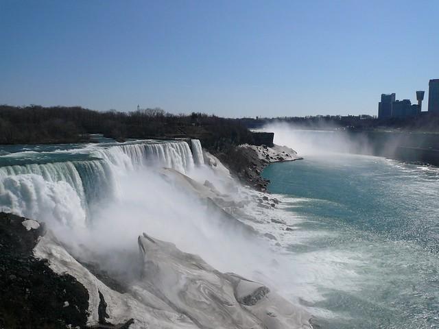 Americ Falls And Horseshoe Falls Niagara State Park Goat I Flickr Photo Sharing