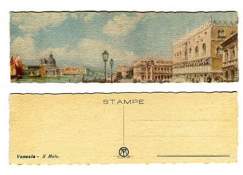 Italy Vintage Italian Postcards  Inspiration For Notes -3309