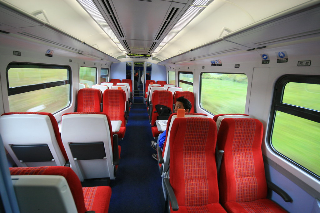 South West Trains; interior class 159   A day trip from ...