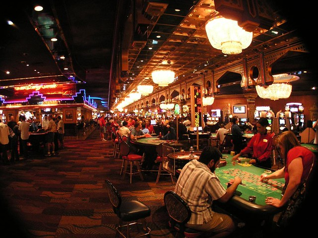 inside the sahara casino in las vegas this is where i