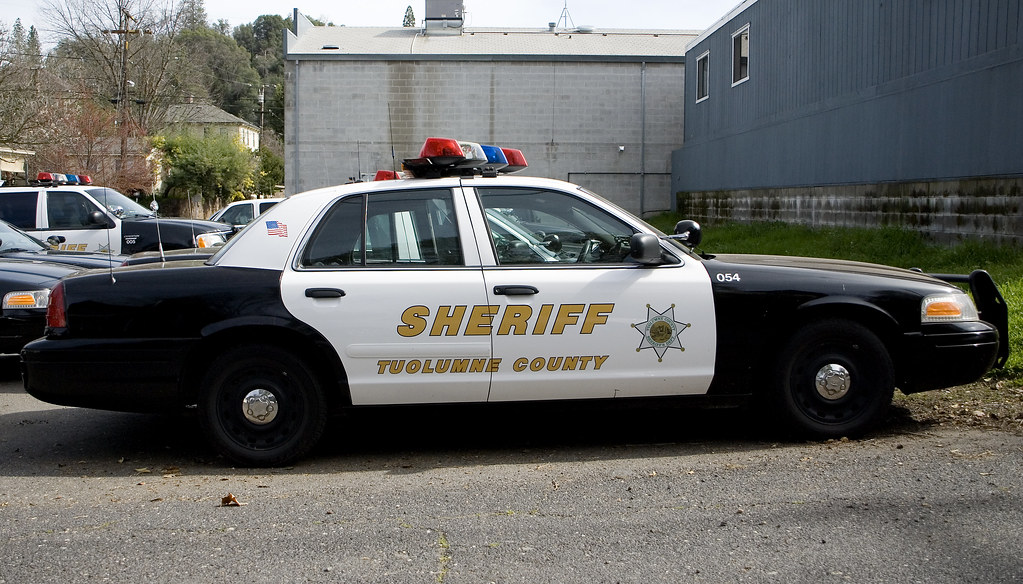 Tuolumne County Sheriff S Car Tuolumne County Sheriff S