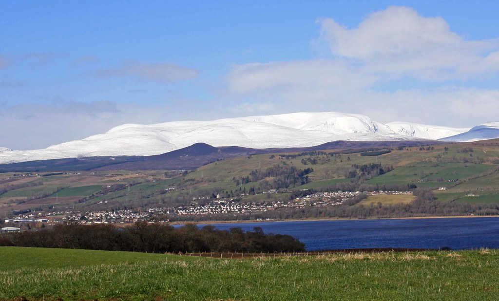 Dingwall Ross Shire Dingwall Sits At The End Of The