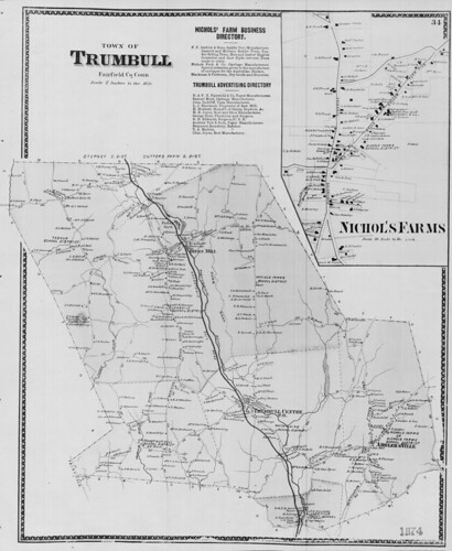 Town of Trumbull, Fairfield Co., Conn. (Petersen Collection) | by uconnlibrariesmagic