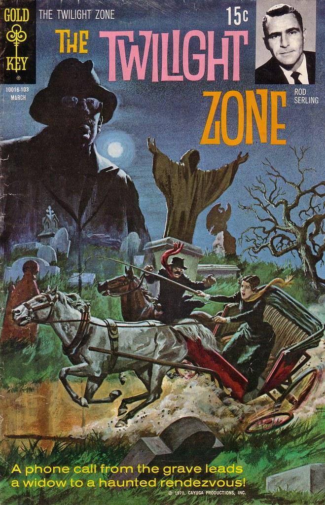 Book Cover Series Zone : The twilight zone nr heft reihe