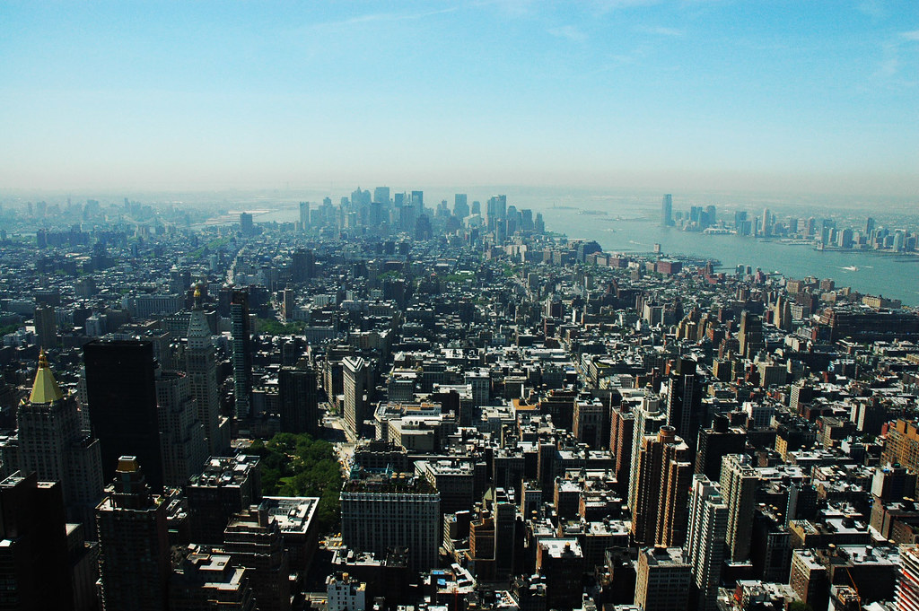 desde el piso 86 del empire state trail of fire flickr
