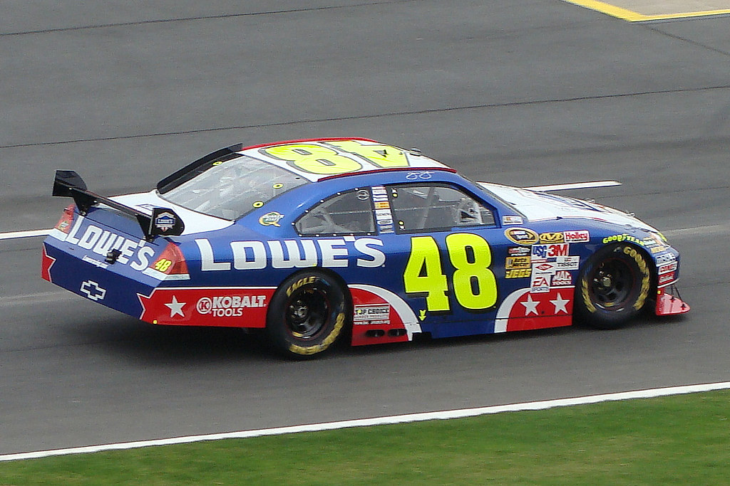 Jimmie Johnson Chevy >> JIMMIE JOHNSON - '09 COCA COLA 600 | Jimmie Johnson's Lowes … | Flickr