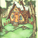 Gingerbread Cottage by Joan Walsh Anglund