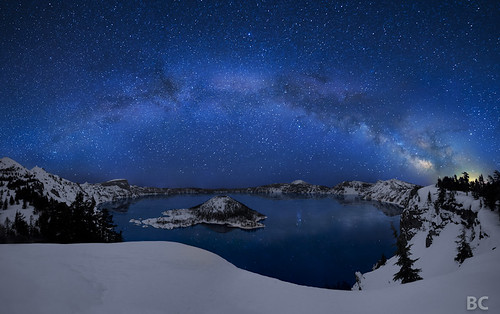Crater Lake under the Stars | by Ben Canales