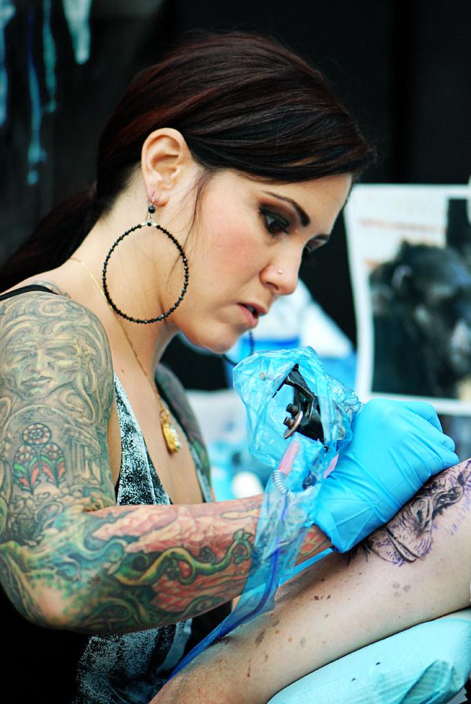 Kim Saigh Gorilla Photos For Tattoo Life Magazin Leslie Ricken Flickr