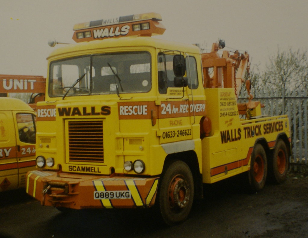 Walls Truck Services Scammell Crusader Converted