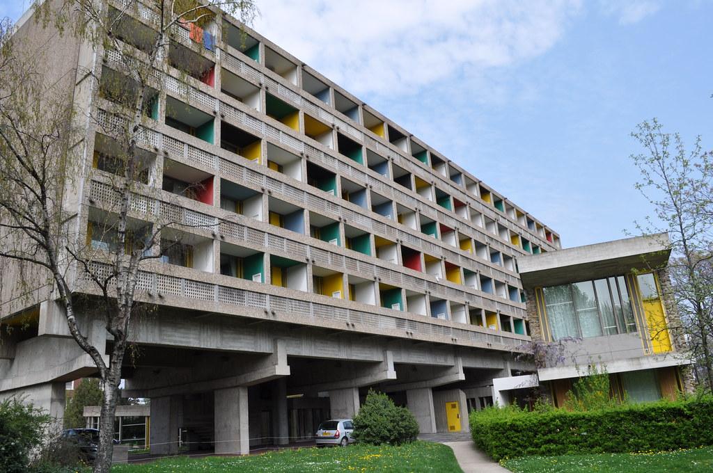 Maison du bresil le corbusier architect 1954 restored flickr - La maison du canape paris ...