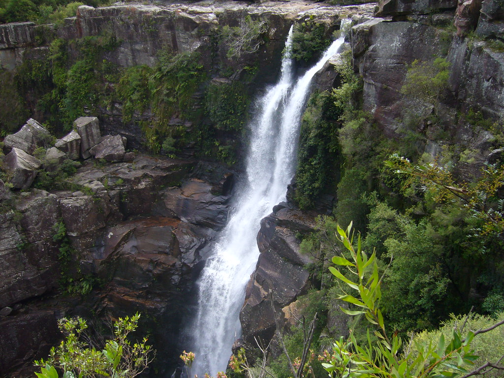 carrington falls how to get to