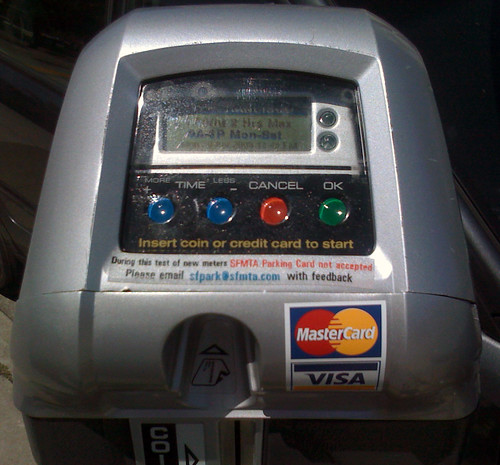 San Francisco experimental parking meters | by niallkennedy
