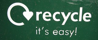 Recycle Logo From Recycling Bin | by csatch