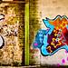 A5 furniture long graffiti wall