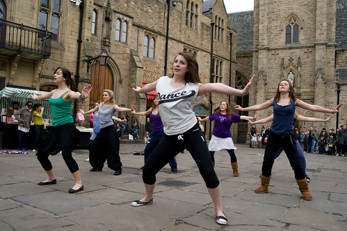 Dancing Flash Mob | by Ieuan Jenkins
