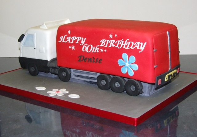 How To Make A Lorry Birthday Cake