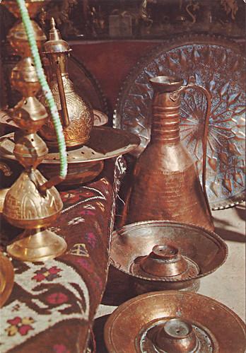 Iraqi Brass Bots Suq Alsufafer Baghdad 1980