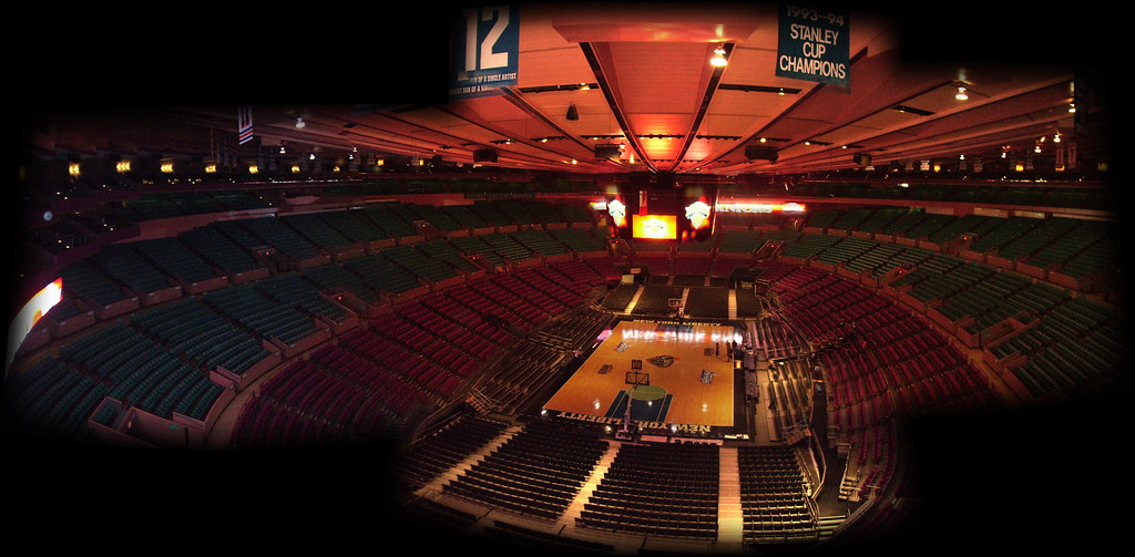 Madison Square Garden Ny From The Older Version En