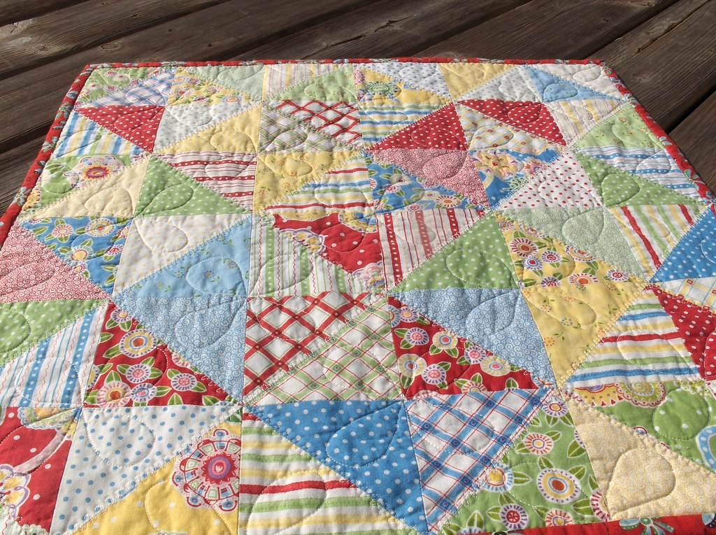 Table Quilt Made With Friends And Flowers By Mary
