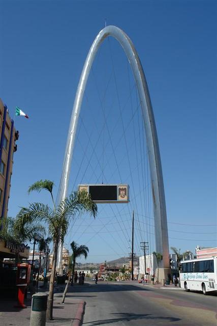 Mexico - Tijuana, Arco de la Avenida Revolución | TIJUANA