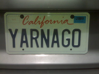 New license plate! | by Rachael Herron