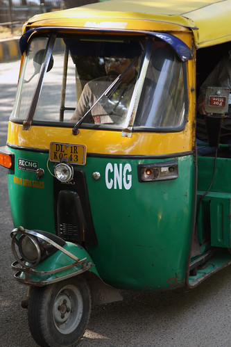 Auto rickshaw in Delhi | by World Bank Photo Collection