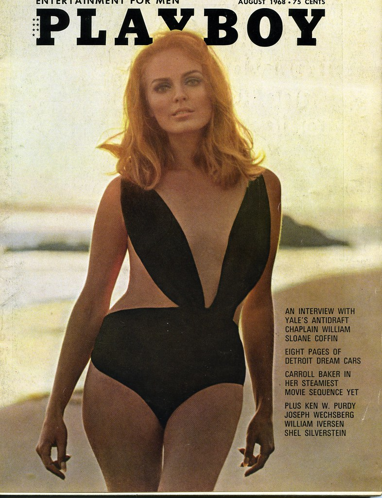Playboy Magazine Cover, agosto 1968 Ben And Asho Flickr-8014