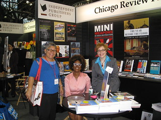 Jacquette M. Timmons, author of *Financial Intimacy,* signs ARCs in Chicago Review Press booth | by publishersmarketplace