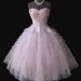 1950's Pink Tulle Prom dress