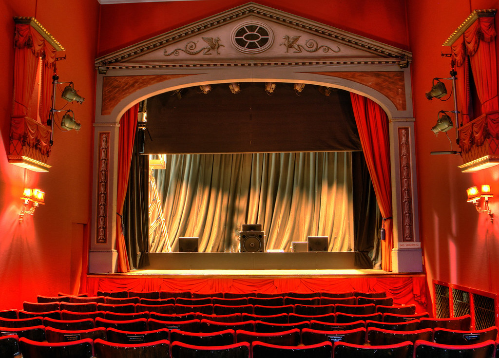 Theater Rosehill Theatre Very Red Inside Interior