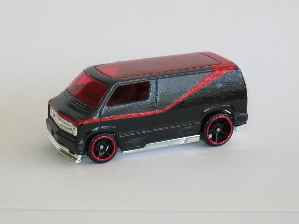 "Custom 1977 Dodge Van | Custom paint job. I call it ""B-Team""… | Flickr"