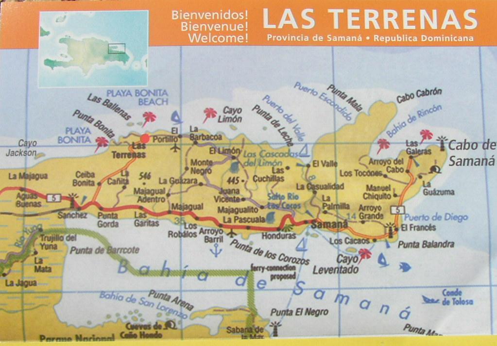 Presqu'ile de Samana Republique Dominicaine la Presqu'île de la Samana