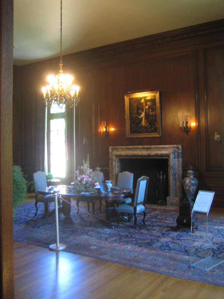 Dining room at filoli house dave beckett flickr for Dining room c house of commons