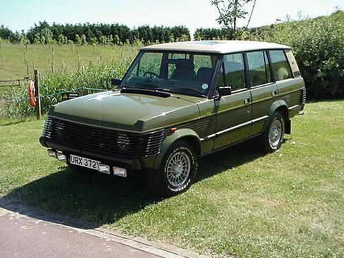"Range Rover Classic >> URX 372Y - 1983 Range Rover Classic - ""Sheer Rover"" Custom ..."