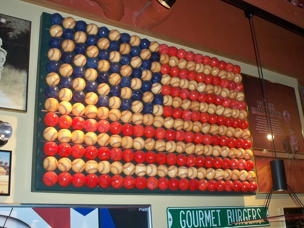 Baseballs For Sale >> Another Baseball Flag | Once_Upon_A_Dream | Flickr