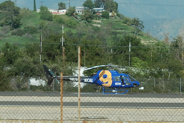 KCAL 9 NEWS HELICOPTER