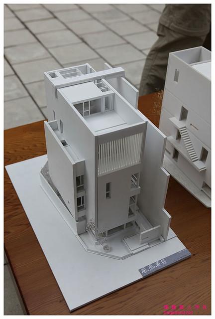 Le corbusier villa baizeau villa cartago 1927 for Casa minimalista maqueta