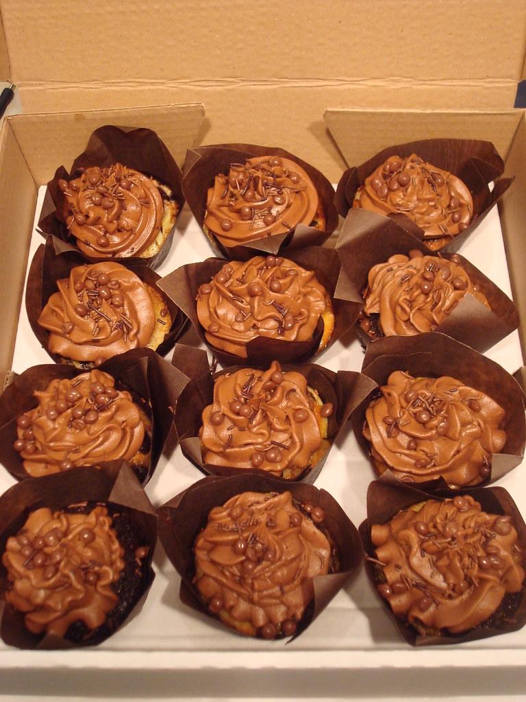 Chocolate Cupcake Decorations