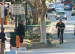 Because Sidewalks are for Pedestrians | by Richard Masoner / Cyclelicious