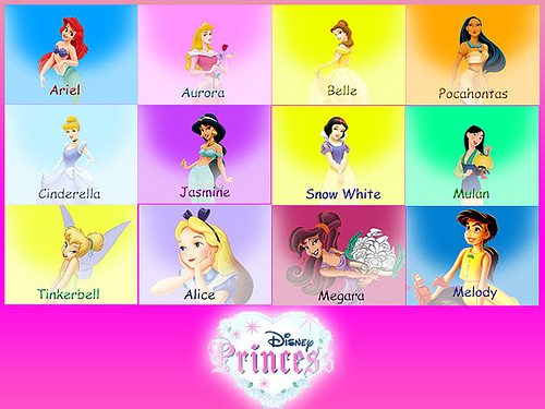 Disney princes names