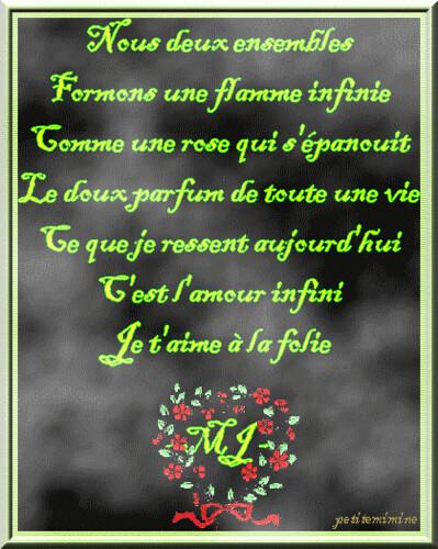 poeme d 39 amour un poeme d 39 amour pour exprimer ses sentiment flickr. Black Bedroom Furniture Sets. Home Design Ideas