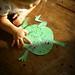 a big warty frog