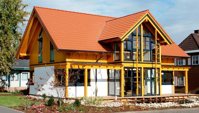 Musterhaus classic Mülheim-Kärlich Südwestansicht | Ein Quer… | Flickr