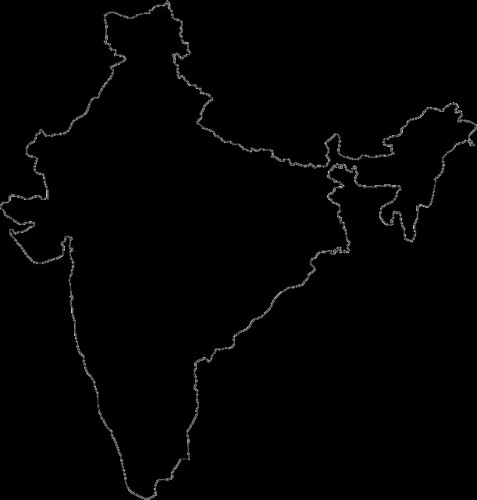 india outline | john fesko | Flickr