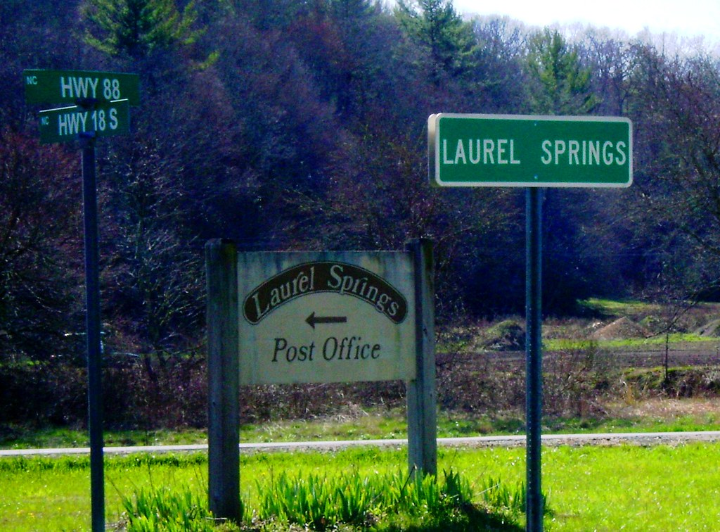 Downtown laurel springs nc alleghany county when you see for Laurel springs