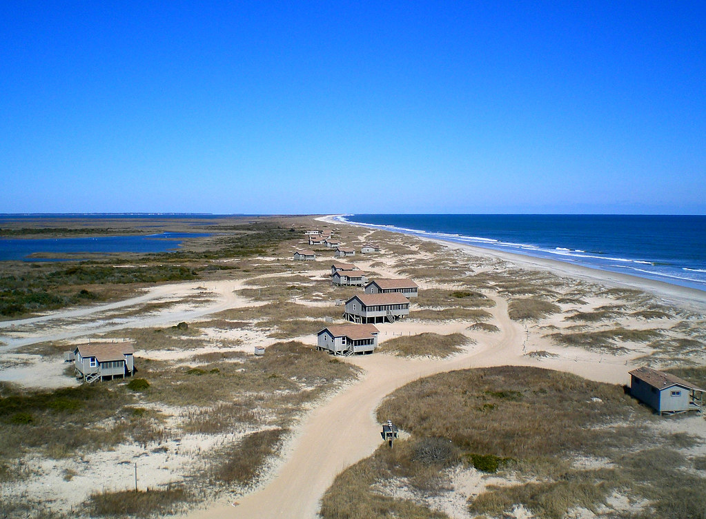 Cape Lookout National Seashore Rental Cabins On South Core Flickr