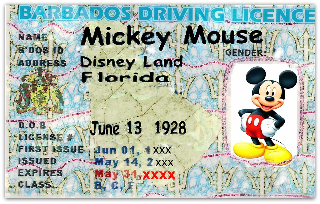 New Barbados Driving License