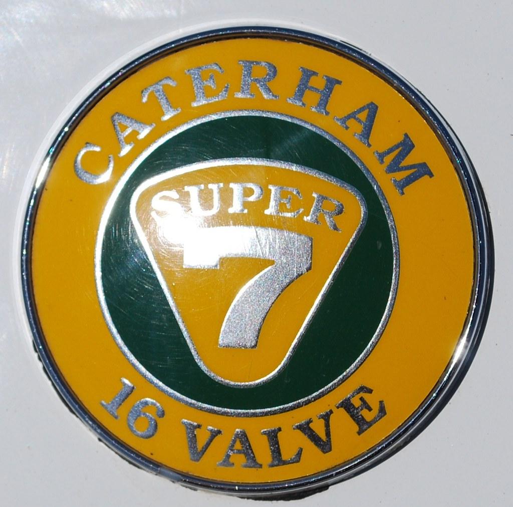 Caterham 7 Badge