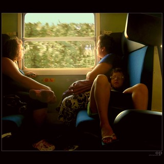 Back From The Beach By Train | by Osvaldo_Zoom